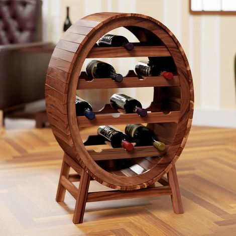 Wine Rack Up to 12 Bottles Stylish Design