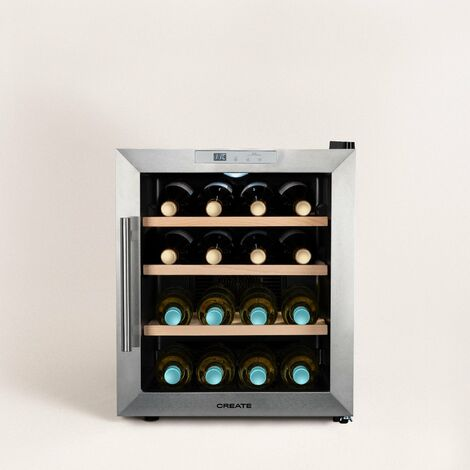 WINECOOLER WOOD L - Vinoteca de 16 botellas
