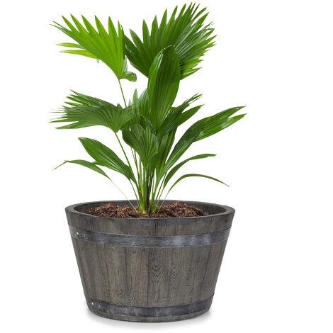 Winegrow jardinière 52,5 x 31,5 cm (ØxH) Fibre d'argile grise