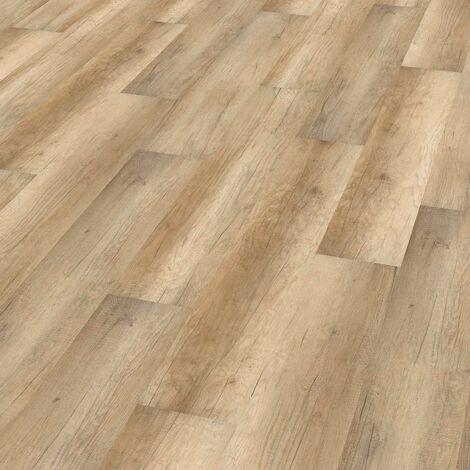 "Wineo 1000 Wood | à coller ""Calistoga Cream"" - 20 x 129,8 cm"
