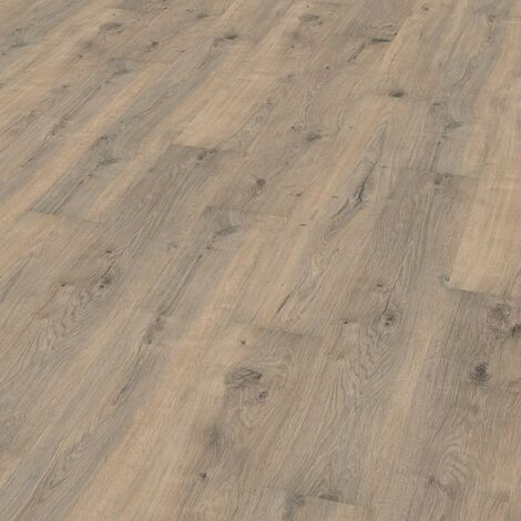 "Wineo 1000 Wood | à coller ""Valley Oak Mud"" - 20 x 129,8 cm"