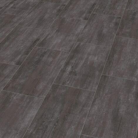 "Wineo 400 Stone | Dalle PVC clipsable hybride ""Hero Stone Gloomy"" - 60,1 x 31 cm"