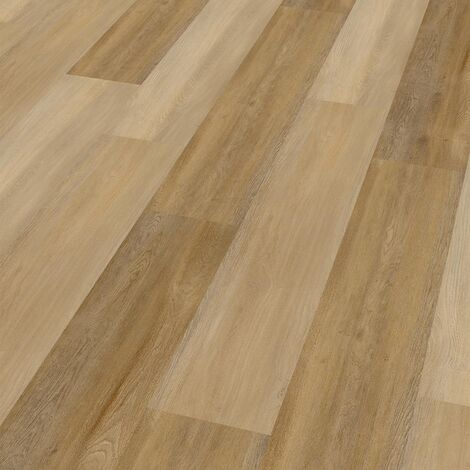 "Wineo 400 Wood | Lame PVC clipsable ""Eternity Oak Brown"" - 121,2 x 18,7 cm"