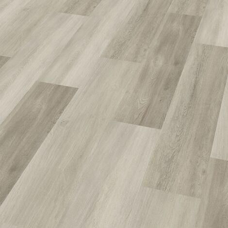"Wineo 400 Wood | Lame PVC clipsable ""Eternity Oak Grey"" - 121,2 x 18,7 cm"