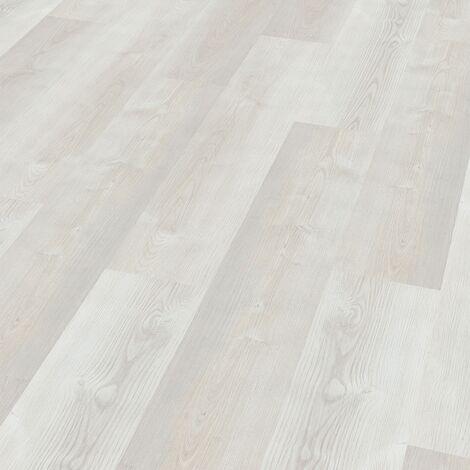 "Wineo 400 Wood | Lame PVC clipsable hybride ""Dream Pine Light"" - 122,2 x 18,2 cm"