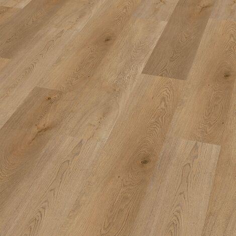 "Wineo 400 Wood | Lame PVC clipsable hybride ""Energy Oak Warm"" - 122,2 x 18,2 cm"