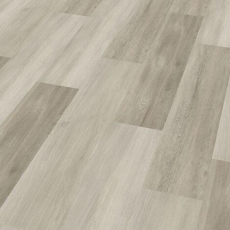 "Wineo 400 Wood | Lame PVC clipsable hybride ""Eternity Oak Grey"" - 122,2 x 18,2 cm"