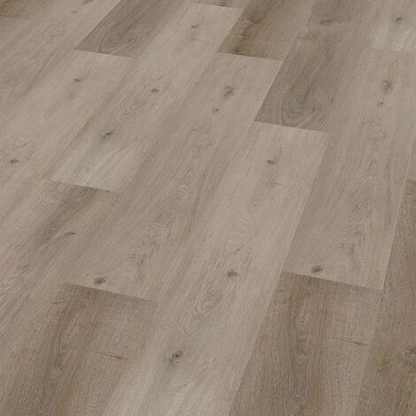 "Wineo 400 Wood | Lame PVC clipsable hybride ""Grace Oak Smooth"" - 122,2 x 18,2 cm"