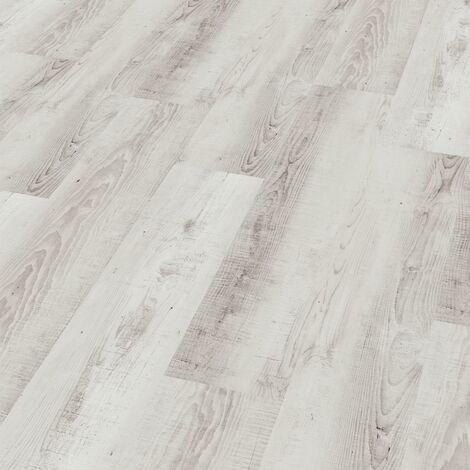 "Wineo 400 Wood | Lame PVC clipsable hybride ""Moonlight Pine Pale"" - 122,2 x 18,2 cm"