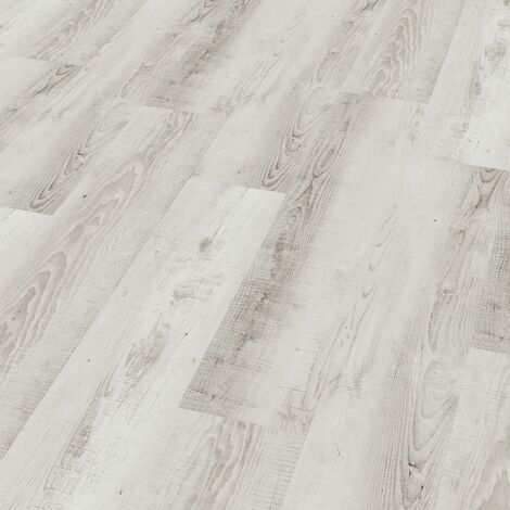 "Wineo 400 Wood | Lame PVC clipsable ""Moonlight Pine Pale"" - 121,2 x 18,7 cm"