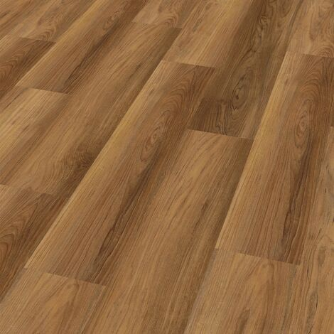 "Wineo 400 Wood | Lame PVC clipsable ""Romance Oak Brilliant"" - 121,2 x 18,7 cm"