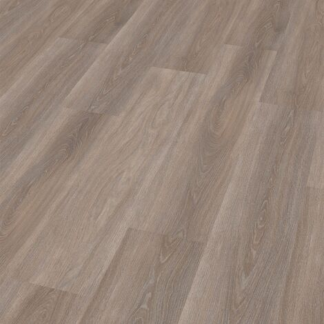"Wineo 400 Wood | Lame PVC clipsable ""Spirit Oak Silver"" - 121,2 x 18,7 cm"
