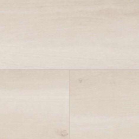 "Wineo 500 Large V4 ""LA164LV4 Smooth Oak White"" - Clair 1522 x 246 x 8 mm"