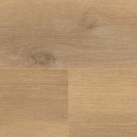 "Wineo 500 Large V4 ""LA166LV4 Smooth Oak Brown"" - Medium 1522 x 246 x 8 mm"