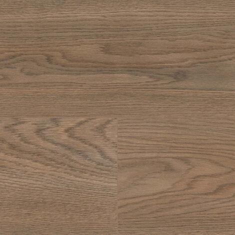 "Wineo 500 Large V4 ""LA172LV4 Flowered Oak Dark Brown"" - Marron 1522 x 246 x 8 mm"