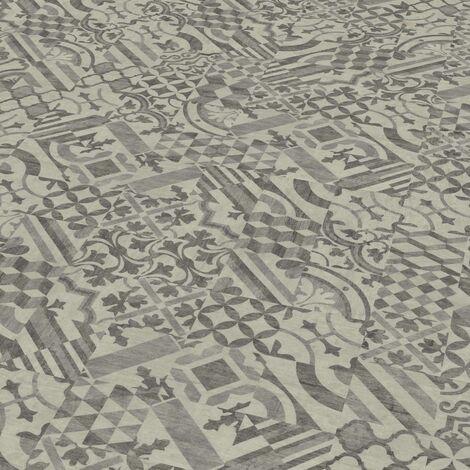 "Wineo 800 Craft | Dalle PVC à coller ""Mosaic Dark"" - 45,72 x 45,72 cm"