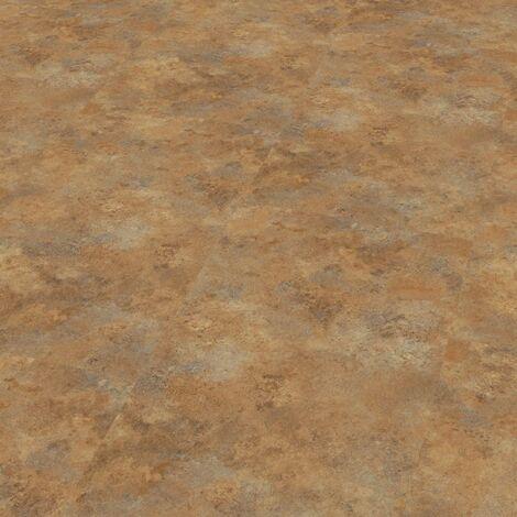 "Wineo 800 Stone XL | Dalle PVC à coller ""Copper Slate"" - 91,44 cm x 45,72 cm"