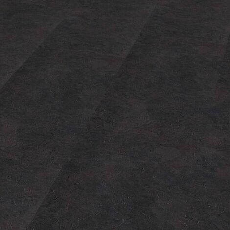 "Wineo 800 Stone XL | Dalle PVC à coller ""Dark Slate"" - 91,44 cm x 45,72 cm"