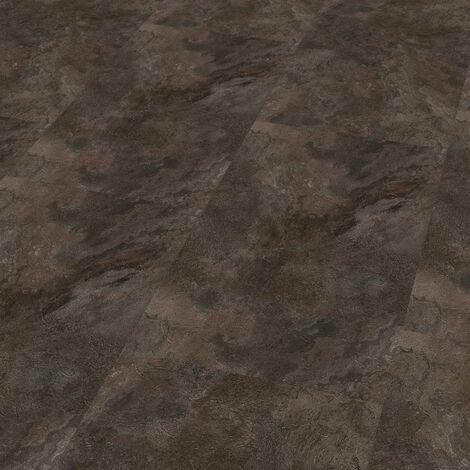 "Wineo 800 Stone XL | Dalle PVC à coller ""Silver Slate"" - 91,44 cm x 45,72 cm"