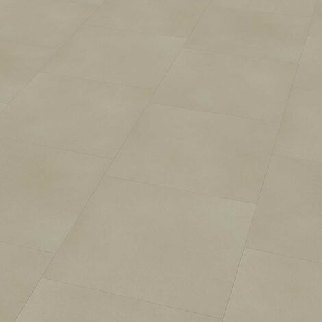 "Wineo 800 Tile L | Dalle PVC à coller ""Solid Sand"" - 45,72 x 45,72 cm"