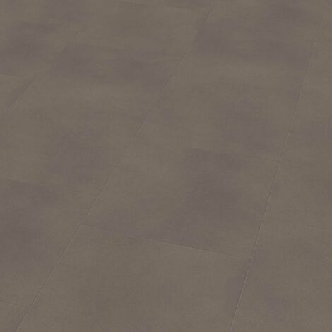 "Wineo 800 Tile L | Dalle PVC à coller ""Solid Taupe"" - 45,72 x 45,72 cm"