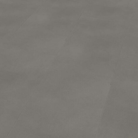 "Wineo 800 Tile XL | Dalle PVC à coller ""Solid Grey"" - 45,72 x 91,44 cm"