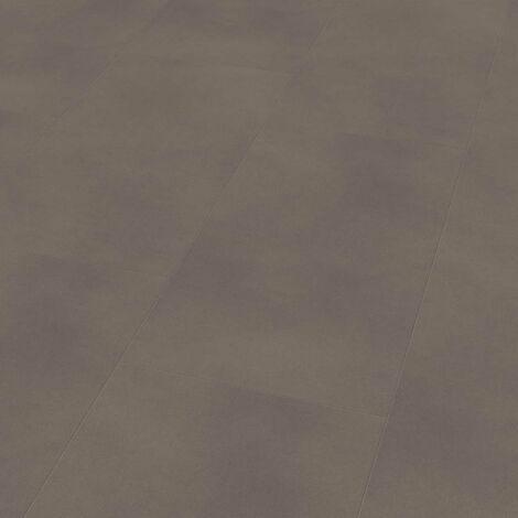 "Wineo 800 Tile XL | Dalle PVC à coller ""Solid Taupe"" - 45,72 x 91,44 cm"