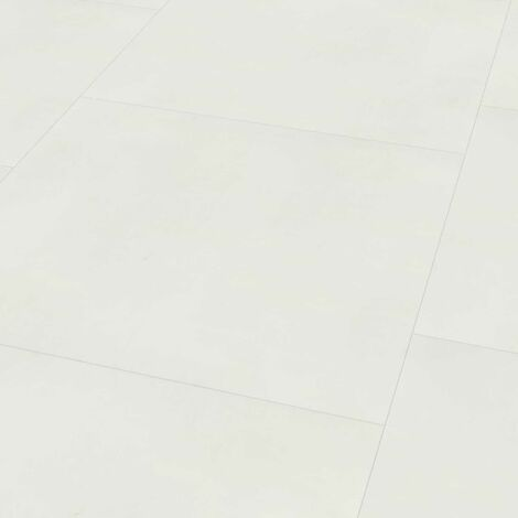 "Wineo 800 Tile XXL | Dalle PVC à coller ""Solid White"" - 91,44 x 91,44 cm"