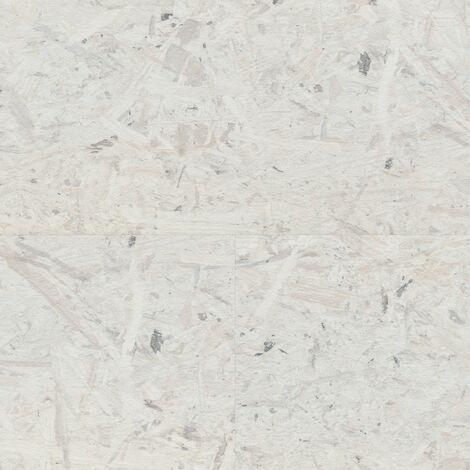 "Wineo Rock'n'Go ""LA152SYS Under Pressure"" - Blanc-gris 12,88 x 1,95 cm"