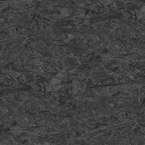 """Wineo Rock'n'Go """"LA153SYS Paint it Black"""" - Noir 12,88 x 1,95 cm"""