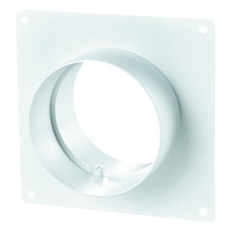 Winflex - flange carré 100mm-conduit de ventilation gaine