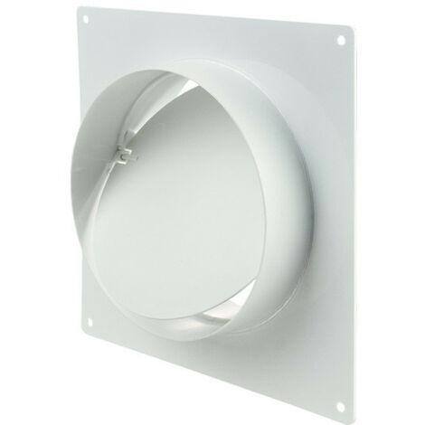 Winflex - flange carré 150mm anti-retour-conduit de ventilation gaine