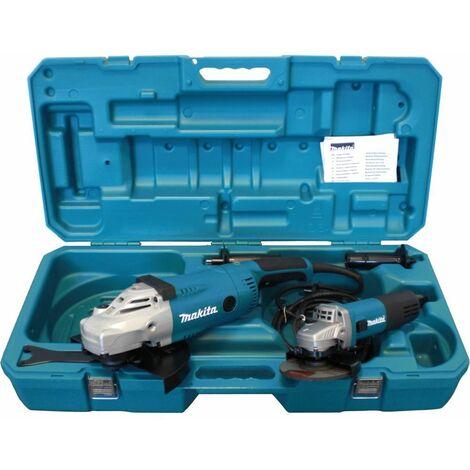 Winkelschleifer-Set DK0052G. 125 + 230mm GA9020R +9558NBR im Koffer