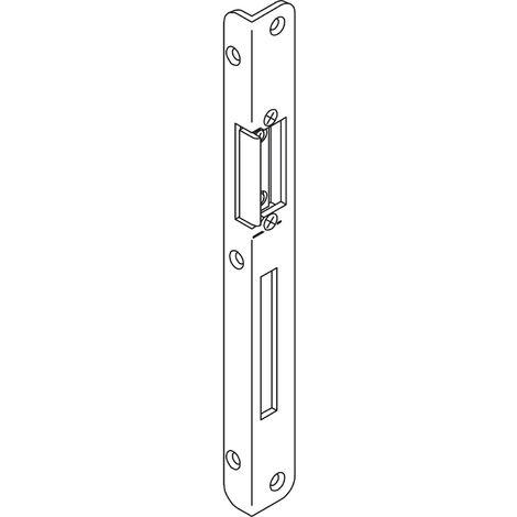 Winkelschließblech für Secury mit 20 mm Stulp