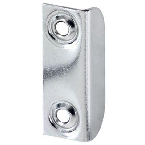 Winkelschliessblech, vernickelt für Push-Lock