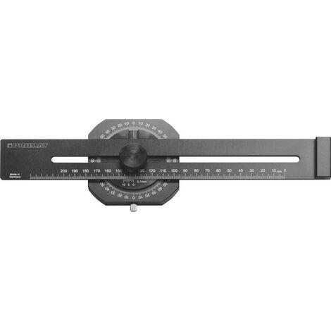 Promat Streichmaß 200mm mit  flachem Schieber