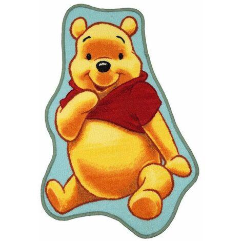 WINNIE L'OURSON - <p>Tapis imprimé Winnie l'Ourson, Disney 50x80</p> - Multicolore