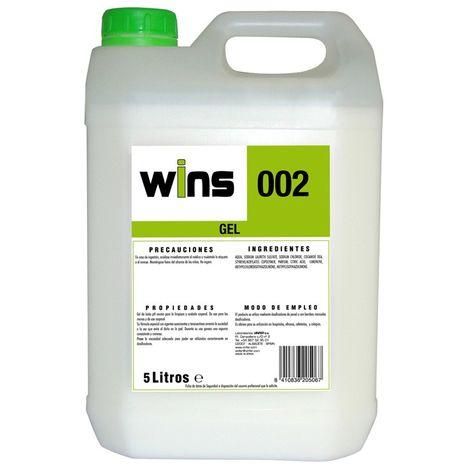 WINS 002 Jabón Gel de manos dermoprotector 5Lt.