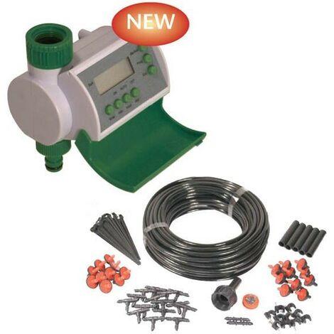 Winster Automatic Digital Water Timer Hozelock Compatible & Micro Irrigation Kit