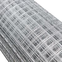 Wire Mesh Aviary Fencing Enclosure Galvanised Welded 1mx10m 12x12mm Hole Size Chicken Rabbit