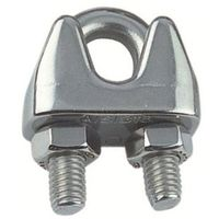 Wire rope clip, Stainless steel A4