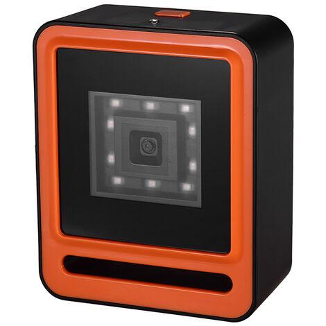 Wired 1D 2D QR Barcoder escaner USB, lector de codigo de barras, naranja
