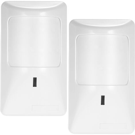 Wired Alarm With Motion Sensor Pir 2 Pieces