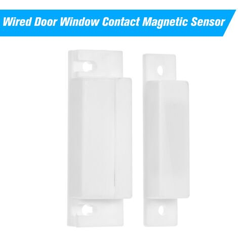 """main image of """"Wired Door Window Contact Magnetic Sensor Intrusion Detector Reed Switch Alarm For Alarm System,model:White"""""""