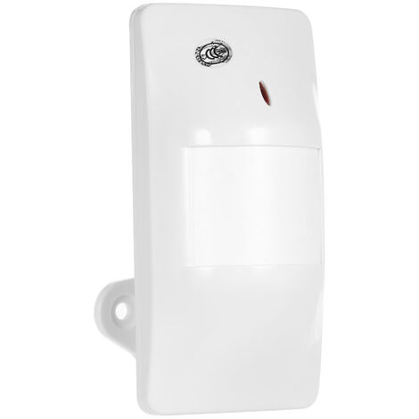 Wired wide-angle wall-mounted infrared detector burglar alarm ZH-901B
