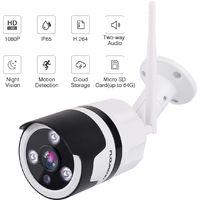 Wireless 1080P HD WIFI IP Cloud Camera CCTV P2P Outdoor Home Security IR Night