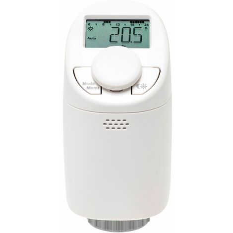 Wireless Bluetooth Battery Controlled Thermostatic Radiator Valve TRV Smart Rad