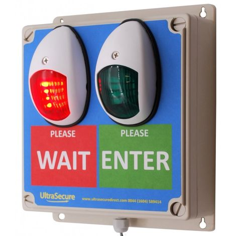 Wireless Door Entry Traffic Light Control System [009-4520]