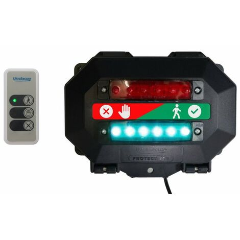 Wireless Door Entry Traffic Light Kit A with Intelligent Portable Controller [009-4720]