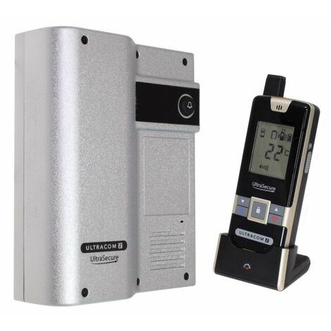 Wireless Door Intercom (UltraCom2 No keypad) Silver Caller Station [006-1470]